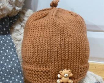 Precious Teddy Pure Merino Wool Hat - 1851