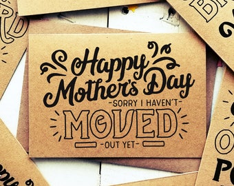 Mothers Day Card - Funny Mum Card - Card For Mothers Day - Mum Cards - Funny Cards - Funny Card For Mum - Funny Greeting Cards