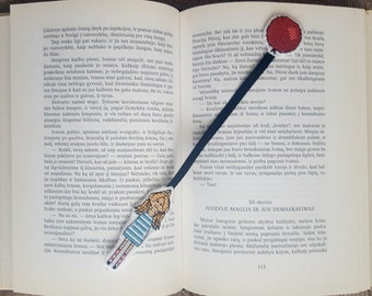 Girl & Ballon Bookmark