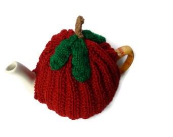 knitting pattern tea cozy apple tea cosies pattern