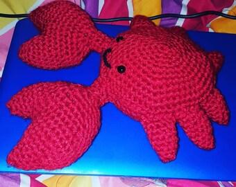 Crochet Amigurumi Maryland Crab