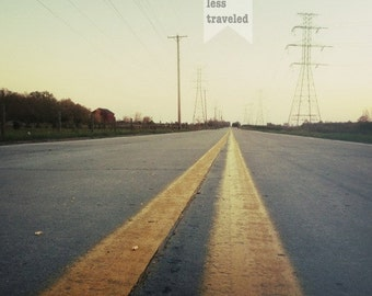 the road less traveled, fine art photography