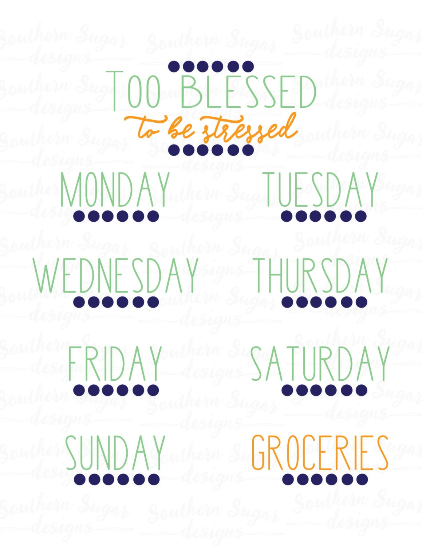 Nett Monatliche Mahlzeit Planungsvorlage Fotos - Entry Level Resume ...