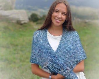 """Knit shawl """"MIST"""" Kit"""