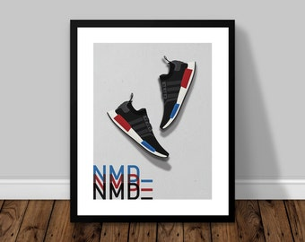 adidas Originals NMD_ OG Illustrated Poster Print | A6 A5 A4 A3