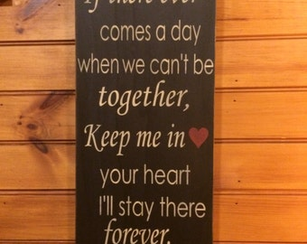 Winnie the Pooh Quote - 20x10 vertical sign