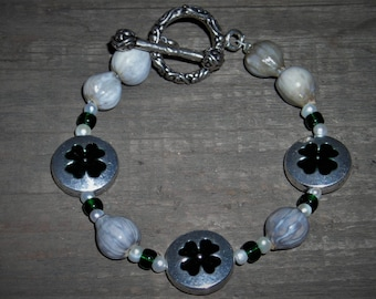 Job's Tears Bracelet-Shamrock