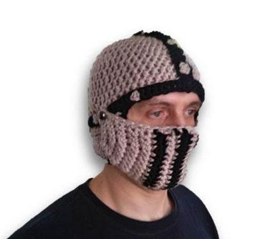 Ritter häkeln Hut Herren Hut gehäkelt Ritter Helm warme