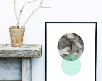 Minimalist Poster, Printable Art, Abstract Art, Scandinavian Art, Textured Art, Abstract Wall Art, Modern Art Print