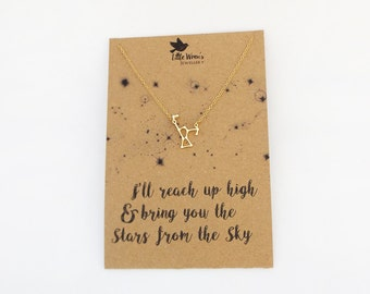 Star Necklace // Astronomy Gift • Space Jewellery • Constellation Necklace • Mother's Day Gift • Ore Constellation • Celestial • Dainty