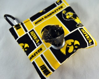Iowa Hawkeyes Poop Bag Pouch