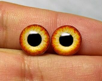 Doll irises 10mm SM color Blaze