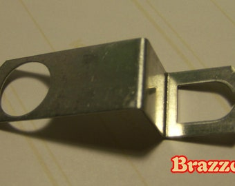 "Made In USA 1/32"" Thick Steel Hanger For Quartz Clock Movement"