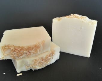 Sake Soap-Natural Soap-Vegan Soap-Rice Wine-Frangrance Free-Hand Crafted-Home Made-Luxury Soap