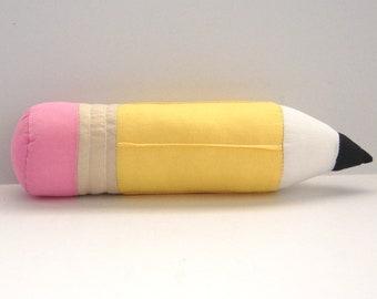 Vintage Pencil Plush, Kitsch Toys