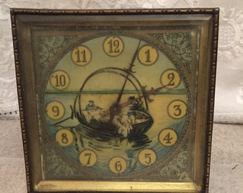 Antique Windable Table Clock very rare
