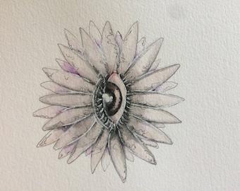 Eye Flower (Print