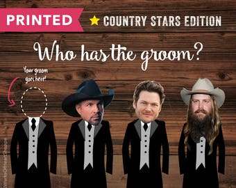 COUNTRY EDITION – Who has the groom? – Printed