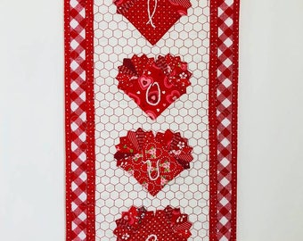 Love - Dresden Wall Hanging PDF Pattern