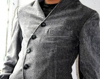 Men 5 button Shirt Jacket