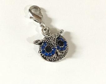 Blue Crystal Owl Progress Keeper