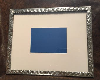 11 x 14 Tinwork picture frame hand punched New Mexican tinwork Jason Younis y Delgado www.newmexicotinwork