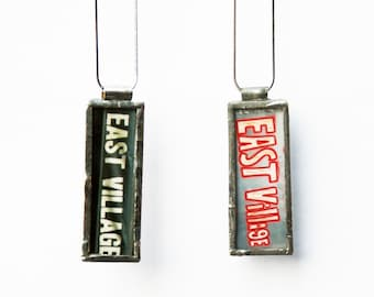 EAST VILLAGE PENDANT - Photo Pendant