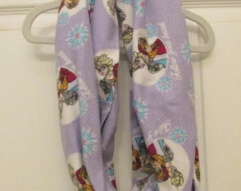 REDUCED PRICE Frozen Flannel Infinity Scarf