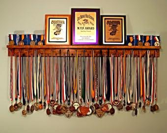 Premier 4ft Medal Hanger Award Display and Trophy Shelf