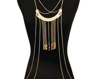 Bead Body Chain Gold