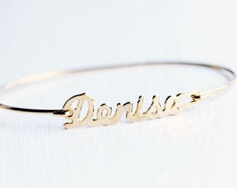 Vintage Name Bracelet - Denise