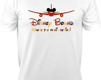Family Disney Vacation Shirt Set, Disney Vacation, Shirts, Disney Shirts, Disney Bound Shirt, Disney Bound Where The Magic Begins Shirt Set