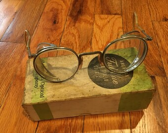 Vintage Ful Vue Lens Side Shield Safety Goggles by AO American Optical Company