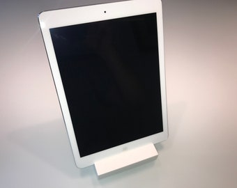 Phone Stand, Holder, Dock. Solid Corian. Ideal for all tablets or smartphones.