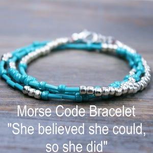 Inspirational Bracelet / Boho Jewelry / Beaded Bracelet / Wrap Bracelet / Personalized Gift for Her / Mother's Day Gift / Graduation Gift