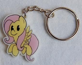 Fluttershy Keychain