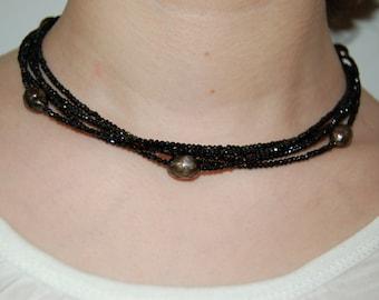 Caviar Twist Necklace