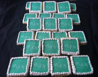 Logo Cookies~ put your company logo on a yummy cookie.