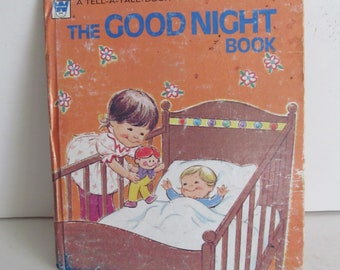 The Good Night Book Childrens books Bedtime Stories A Whitman Book 1974 Bedtime books for Toddlers Books