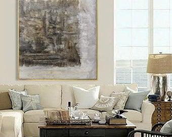Abstract Painting, Contemporary Art, Handmade Large Wall Art, extra large wall art, large wall decor, extra large canvas art, large painting