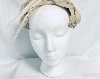 Vintage 1950s Ladies Hat