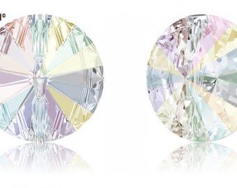 Swarovski 3015 - Round Crystal Button