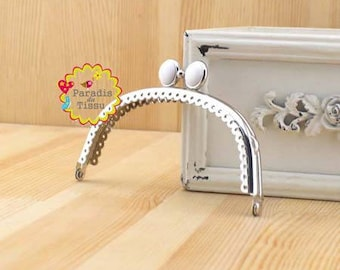 1 x 12.5 cm White Pearl for coin silver K297 circle clasp