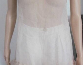 Powdered silk tunic