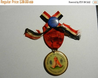 Spring Sale Vintage Knights of the Maccabees Sports 1st Prize Award