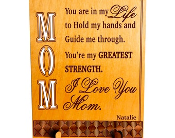 Mom Gift from Daughter - Son - Gifts for Mom Personalized - Mothers Day - Mother's Day Gifts, PLM016