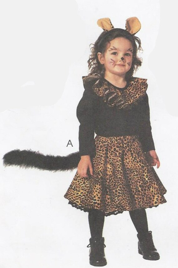 + $3.25 shipping  sc 1 st  Etsy Studio & Toddler Angel kitty cat mouse u0026 50s poodle skirt costumes pattern ...