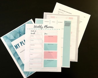 Simple Planner with Instructions