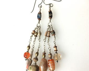 Indus Valley 4000 year old Beads in Earrings by Kate Drew-Wilkinson #2