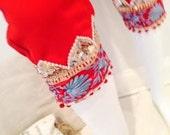 Scarlet Chiffon Crop Pant...